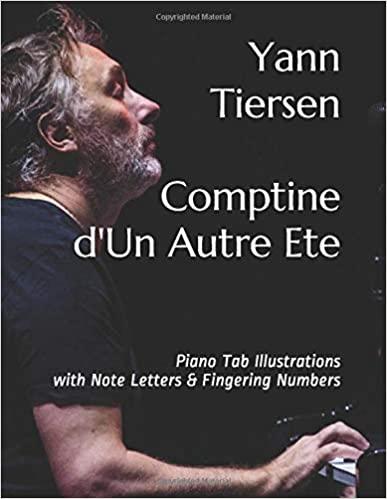 Comptine d'Un Autre Ete Play Piano By Letters