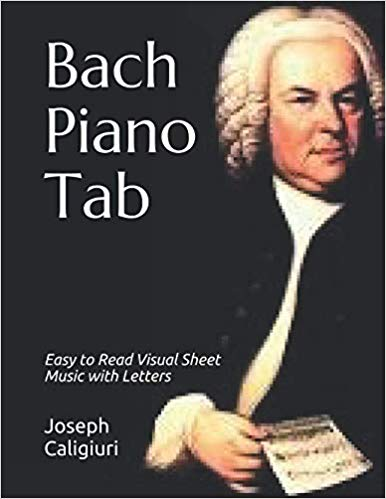 Bach Piano Tab Play Piano By Letters
