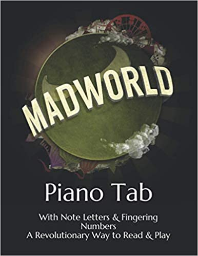 Mad World Play Piano By Letters