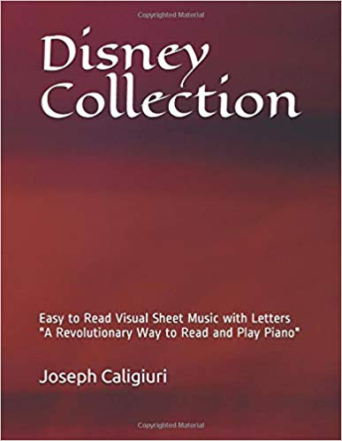 Disney Collection Play Piano By Letters
