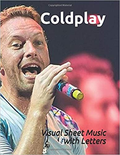 Coldplay Play Piano By Letters