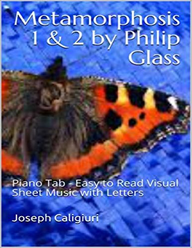 Metamorphosis 1 & 2 Play Piano By Letters
