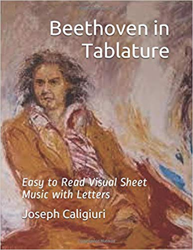 Beethoven in Tablature Play Piano By Letters